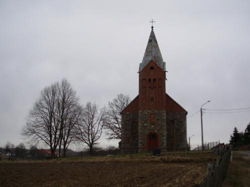 kościół ewangelicki w Ugoszczy