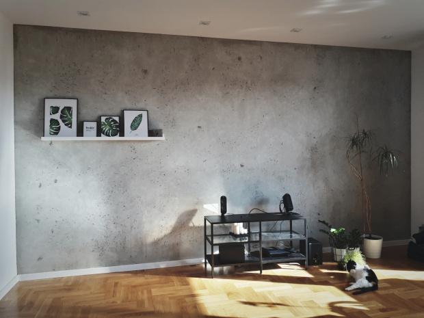Efekt betonu z zaprawy ZW-04