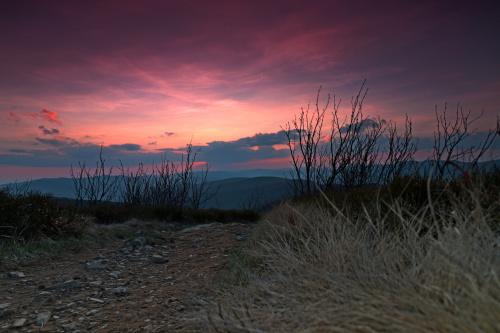 "Zachód słońca ""Mała Rawka"" 1272 nmp"