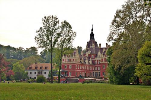 Zamek w Parku Mużakowskim