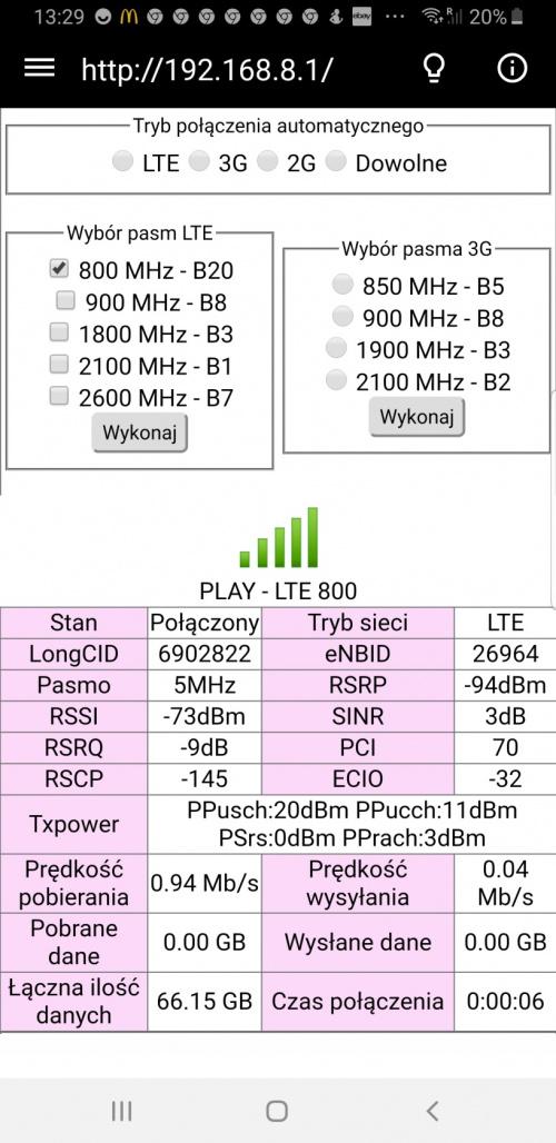 Huawei B715 z Play - Strona 36 - Forum bez kabli - Internet