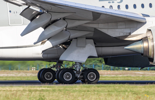 Koła lądującego Airbusa :)