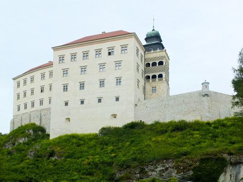 Zamek w Pieskowej Skale. Ojcowski Park Narodowy
