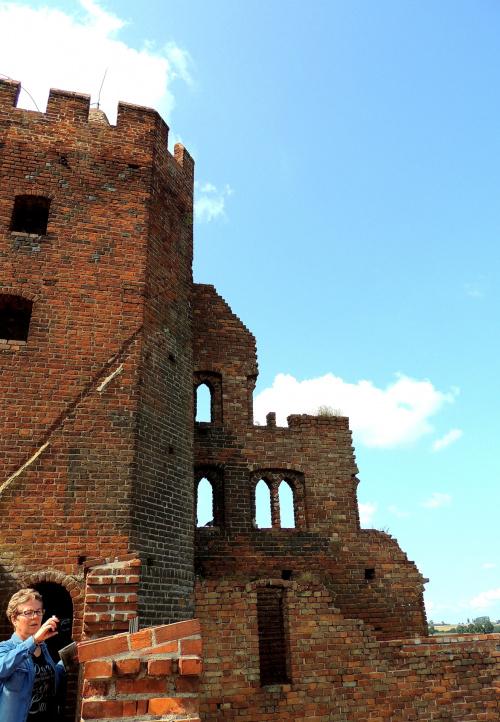 ruiny zamku w Radzyniy