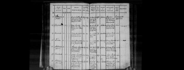 Jan Szatkowski Akt urodzenia 23.06.1868 Althausen
