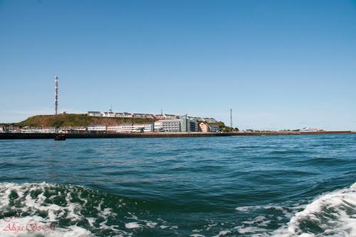 Wyspa Helgoland z Promu .. Wyspa- #Helgoland #morze #krajobrazy #alicjaszrednicka