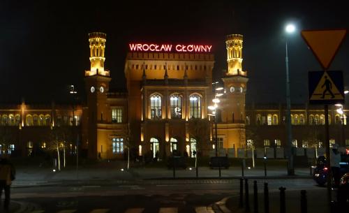 Wrocław. Dworzec Głowny