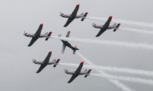 Orliki - Radom Air Show 2018