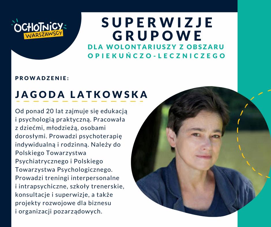 Prowadzenie: Jagoda Latkowska
