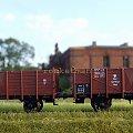 Wagony węglarki P.K.P. w skali 1:87. Epoka II #PKP #wagon #towarowy H0