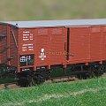 Model wagonu towarowego zarządu P.K.P. z otwieranymi drzwiami w skali 1:87. Epoka II #PKP #wagon #towarowy H0