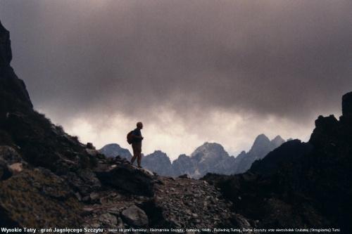 W Tatrach Wysokich na huśtawce między niebem a ziemiąą