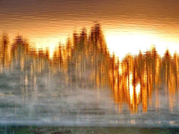 Słońcem na wodzie malowane