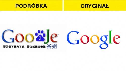 #Podróbka #google