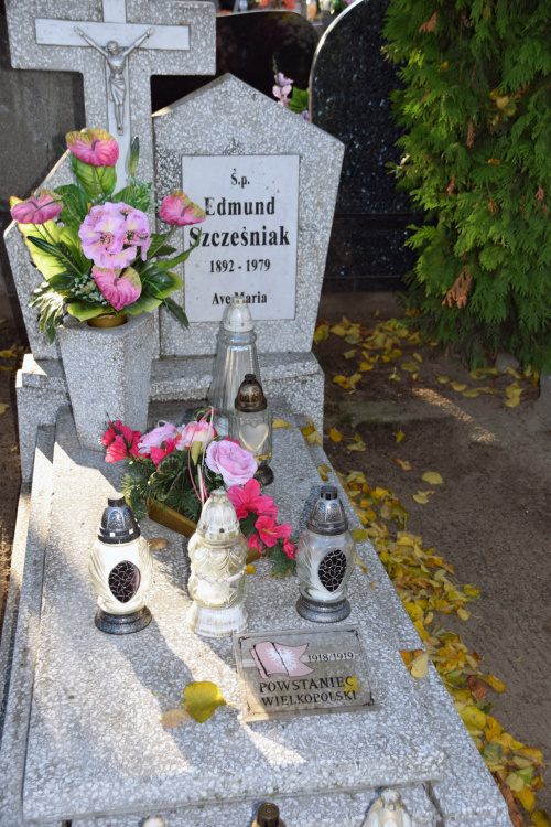 Edmund Szcześniak cm. Kędzierzy pod Gnieznem #powstaniec #powstanie #Kedzierzyn