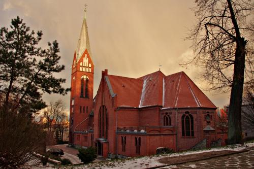 Lubsko- kościół parafialny (pw. NSPJ)